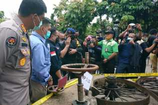 Tim Gabungan Amankan Ribuan Barang Bukti dan Tersangka Ilegal Logging Rimbang Baling